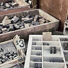 Old letterpress stuff by Marlene Hielema