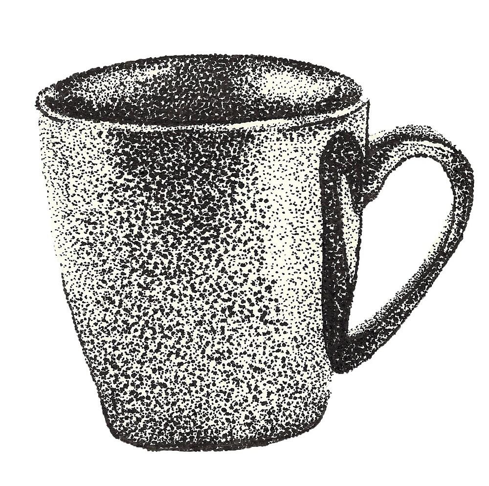 Dotted Mug  by michelleiovino