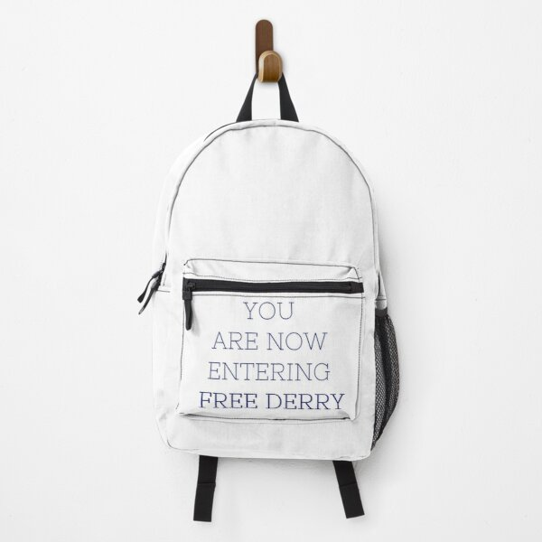 Derry Girls - Now Entering Free Derry Backpack