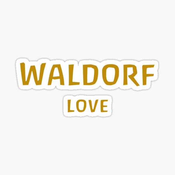 WALDORF LOVE - waldorf school education rudolf steiner home decoration love anthroposophy v2 Sticker