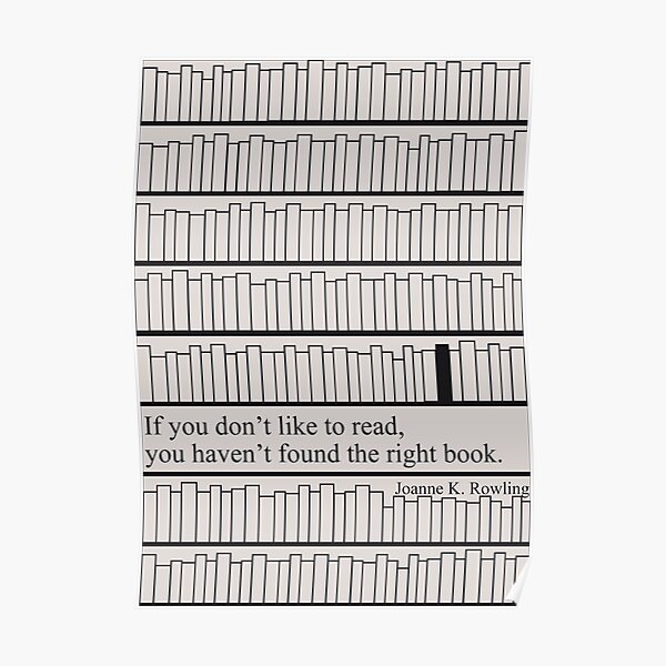 Have you found the right book?  Poster