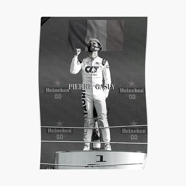 PIERRE GASLY F1 2020 Poster