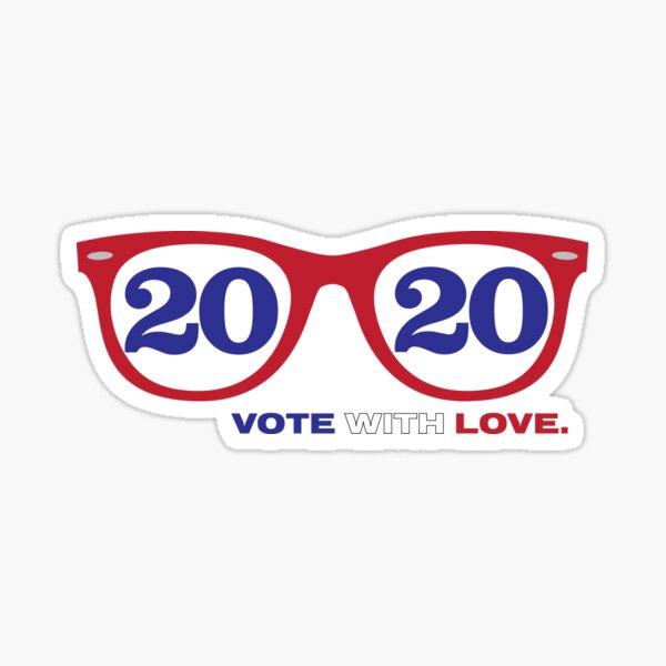 VOTE with LOVE lll Sticker