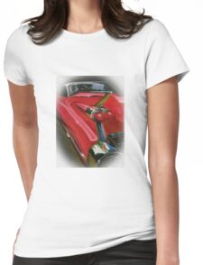 1959 Cadillac Womens Fitted T-Shirt
