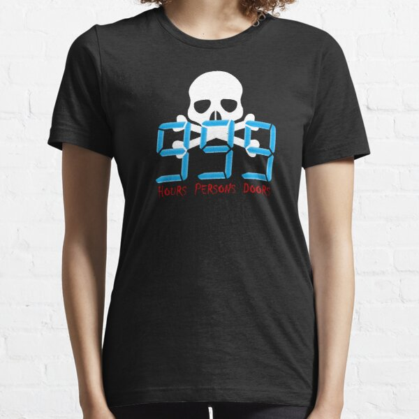 Hours, Persons, Doors Essential T-Shirt