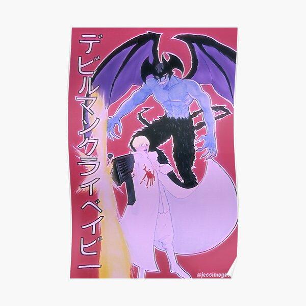 Devilman Crybaby Fanart Poster