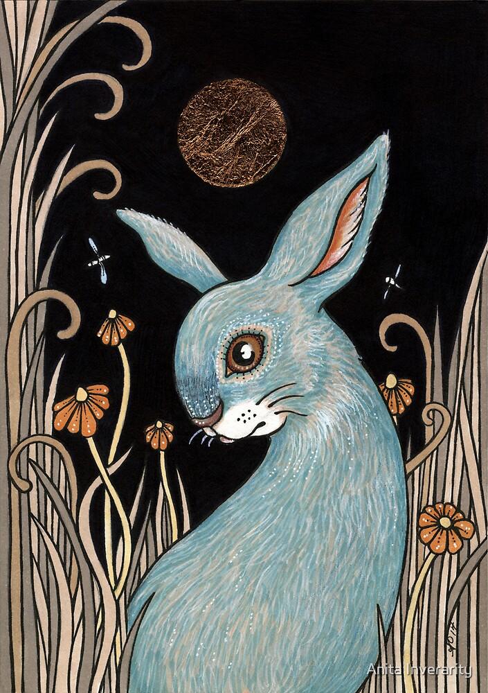Bunny Blue by Anita Inverarity