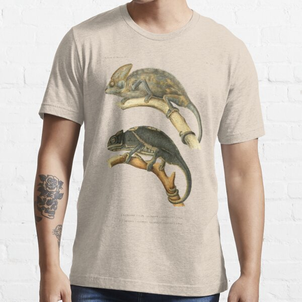 Chameleon Scientific Illustration Essential T-Shirt