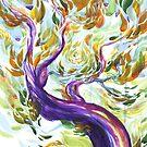 Purple Tree by middlenam