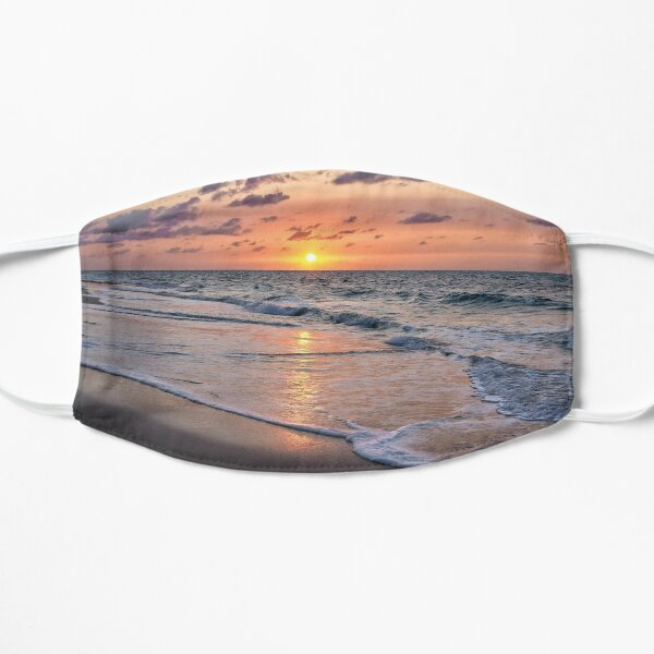 Tropical Sunset Beach  Mask