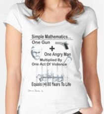 Simple Mathematics Women's Fitted Scoop T-Shirt