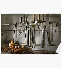 Metal Worker - Tools of a tin smith Poster