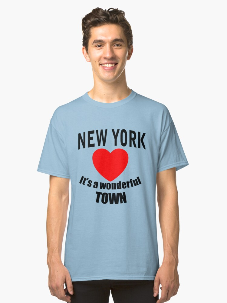 New York Classic T-Shirt Front