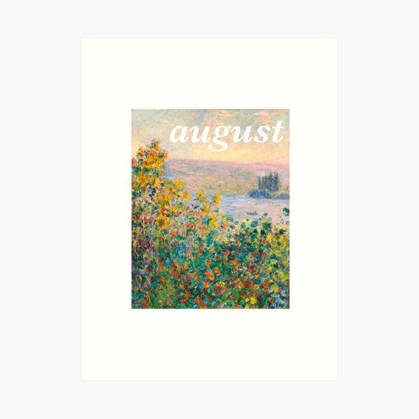 August Tayor Swift Monet  Art Print