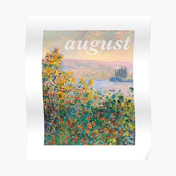 Agosto Tayor Swift Monet Póster