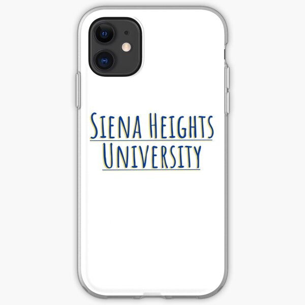 siena heights iPhone Soft Case