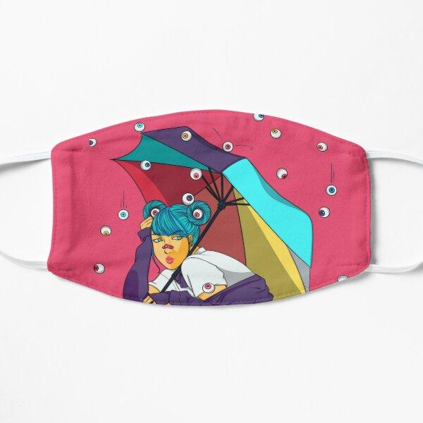 Eyeball Rain Flat Mask