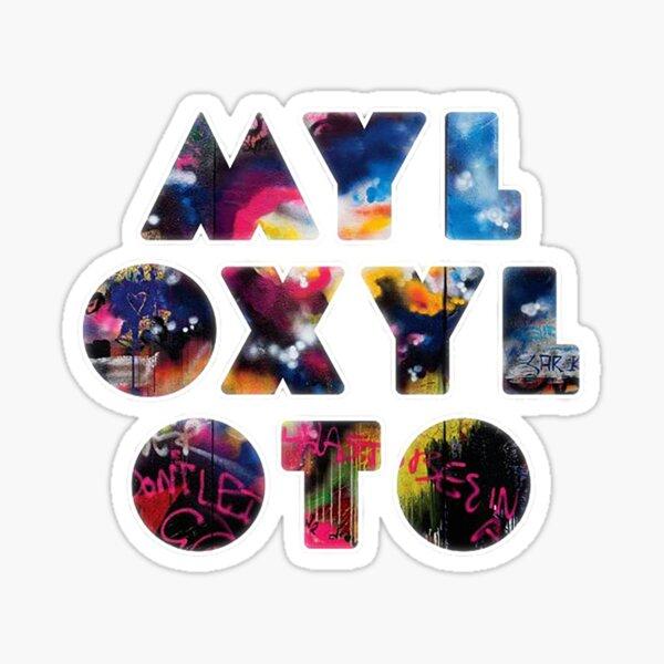 Myloxyloto Coldplay Sticker