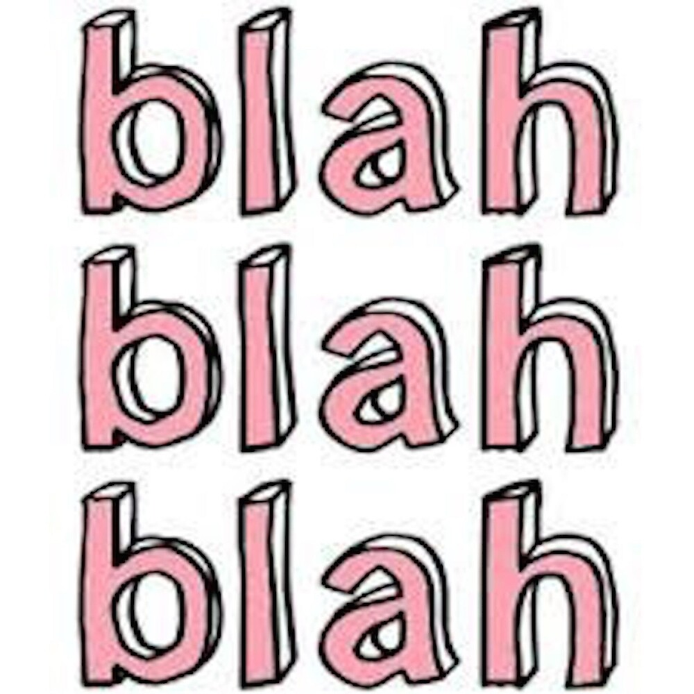 blah by blah Definition of blah in english: blah noun informal  1 mass noun used to refer to something which is boring or without meaningful content 'the first 20 pages are a lot of blah about budgets and stuff like that'.