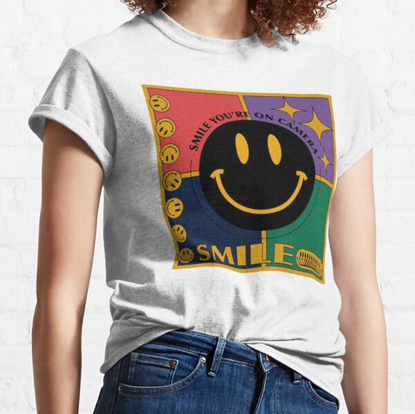 retro smile you're on camera  Classic T-Shirt
