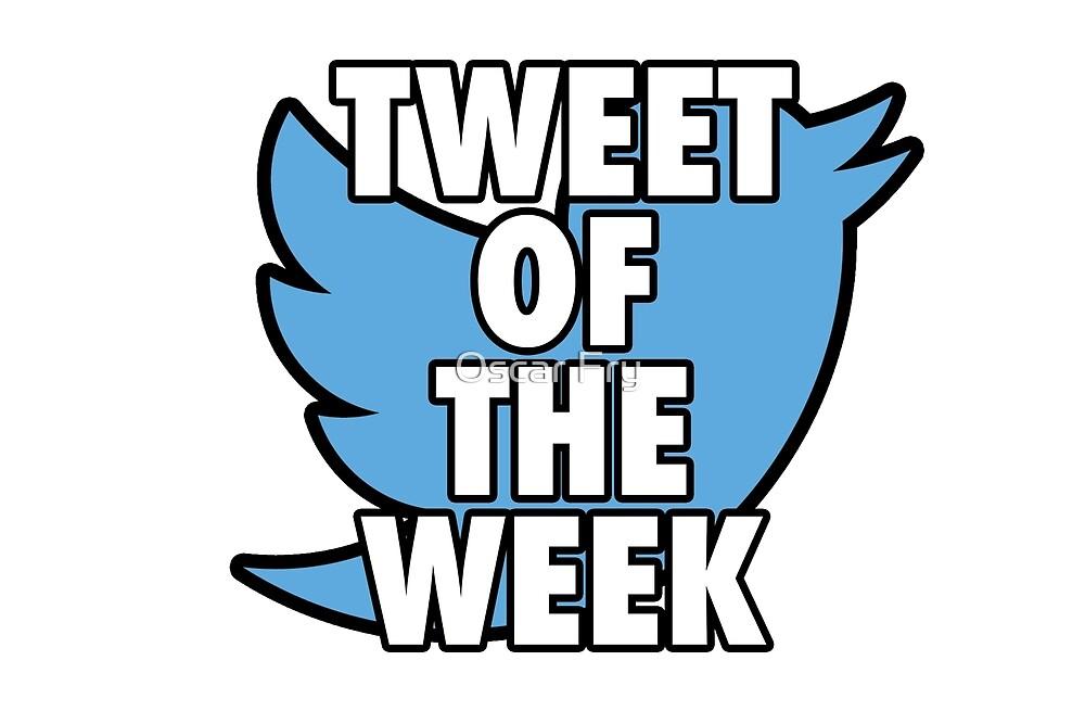 Tweet of the Week by Oscar Fry