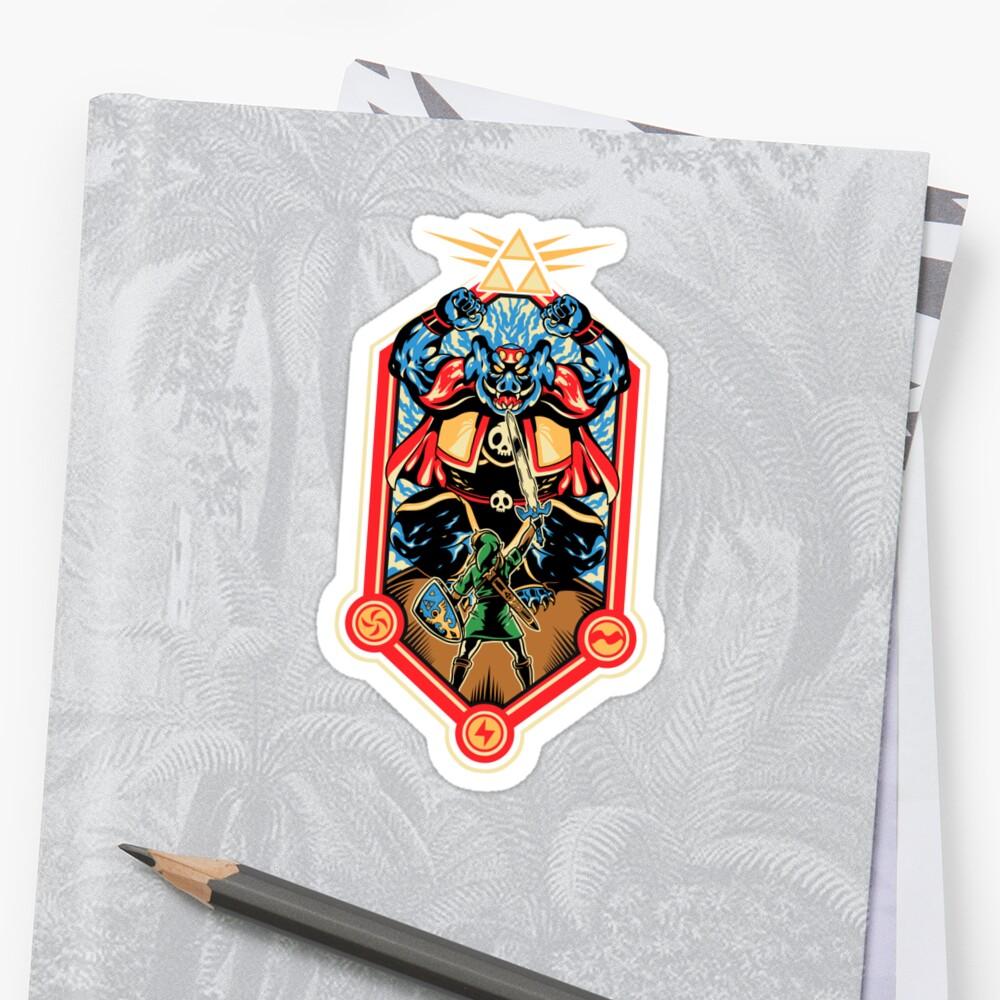 Epic Triforce of the Gods by MeleeNinja