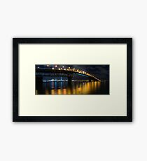 Auckland City Panorama Framed Print