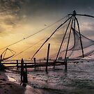 Kochi sundown.  by DaveBassett