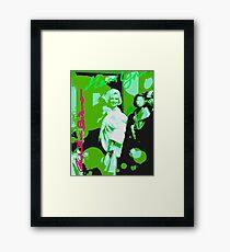 Green Munroe Framed Print