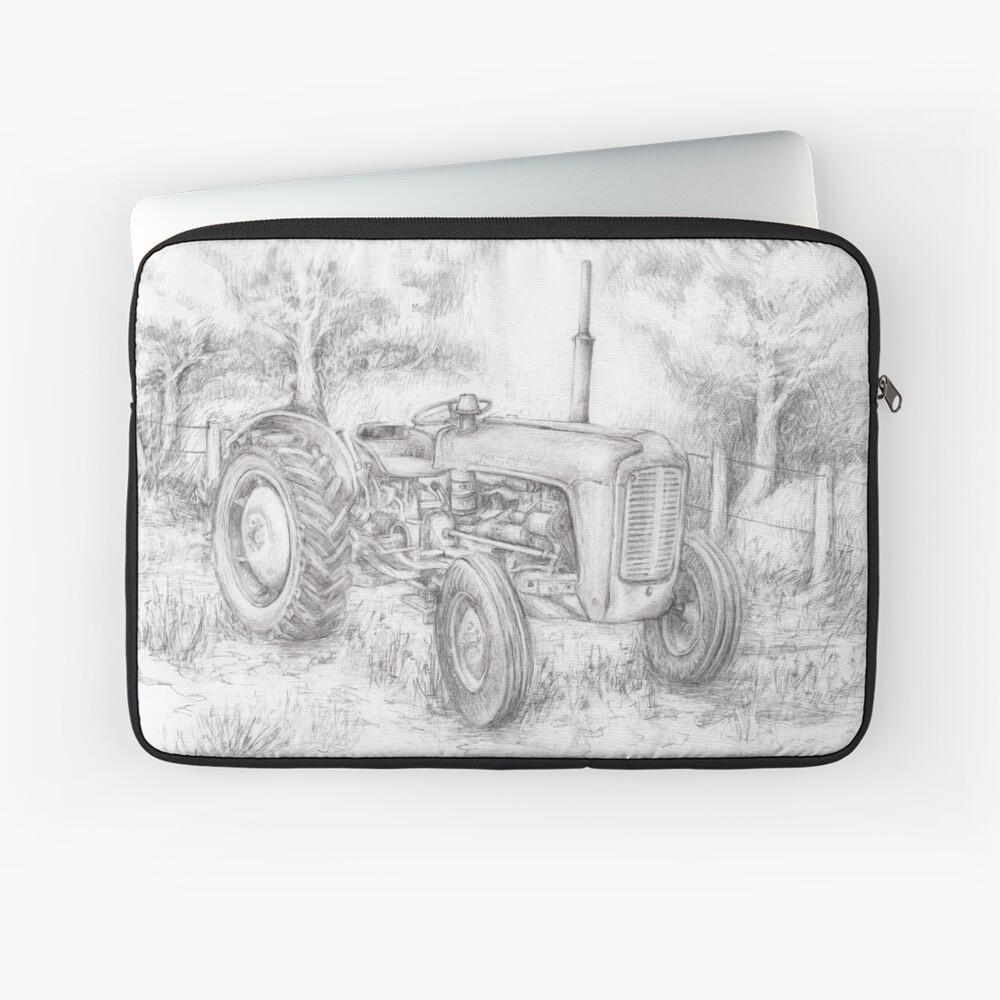 Massey Ferguson 35 tractor drawing Laptop Sleeve