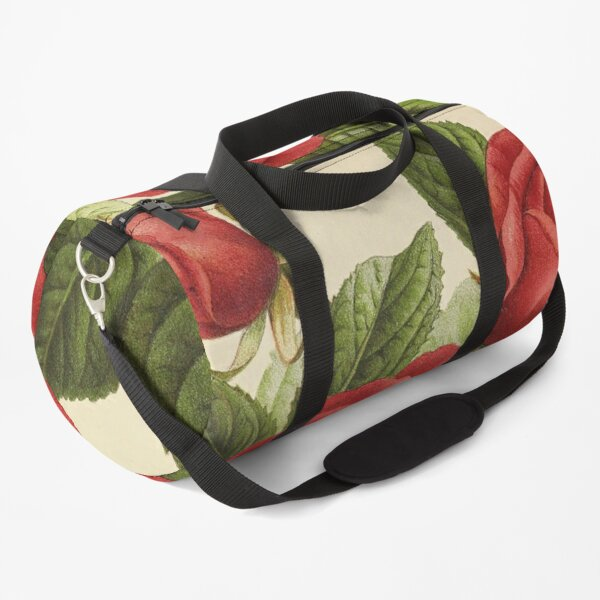 """Vintage """"Countess of Rosebery"""" Print from The florist and pomologist (1879) Duffle Bag"""