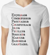 Les Amis - Revolution Men's V-Neck T-Shirt