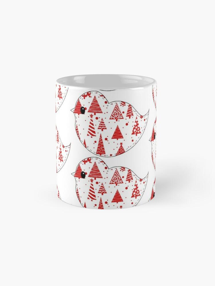 Alternate view of Christmas Robin and Friends Mug