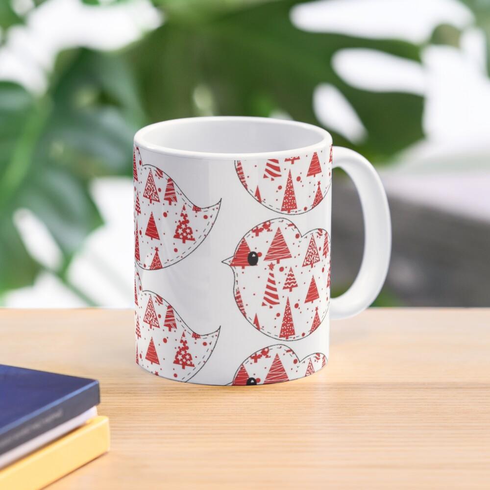 Christmas Robin and Friends Mug