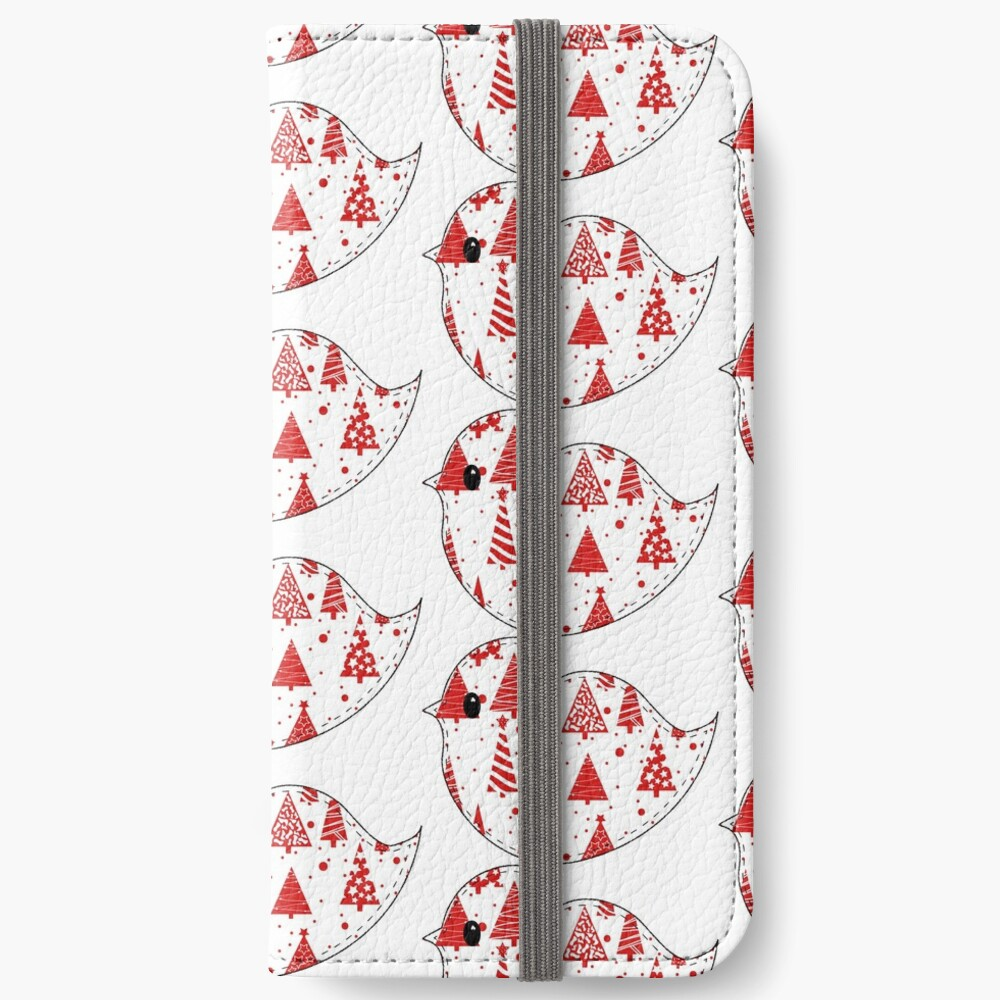 Christmas Robin and Friends iPhone Wallet
