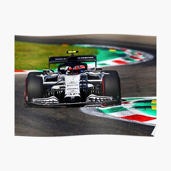 Pierre Gasly en route vers sa première victoire au Grand Prix d'Italie 2020 à Monza Poster