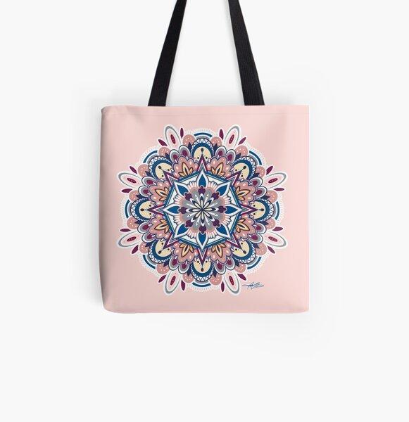 Mandala All Over Print Tote Bag