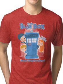Fly the Blue Box! Tri-blend T-Shirt