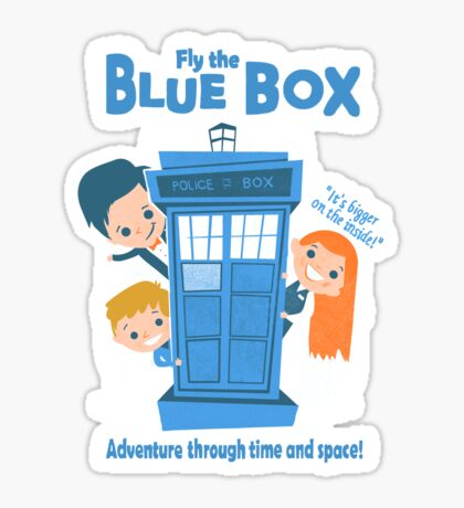 Fly the Blue Box! Sticker