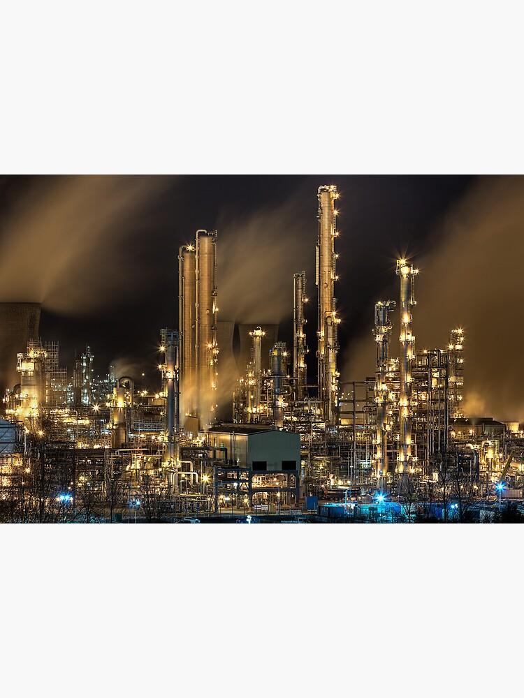 Grangemouth Refinery (2) by Shuggie