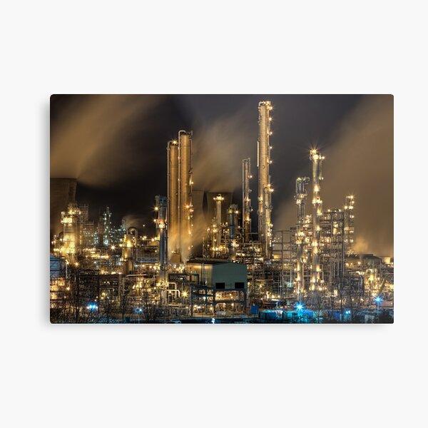 Grangemouth Refinery (2) Metal Print