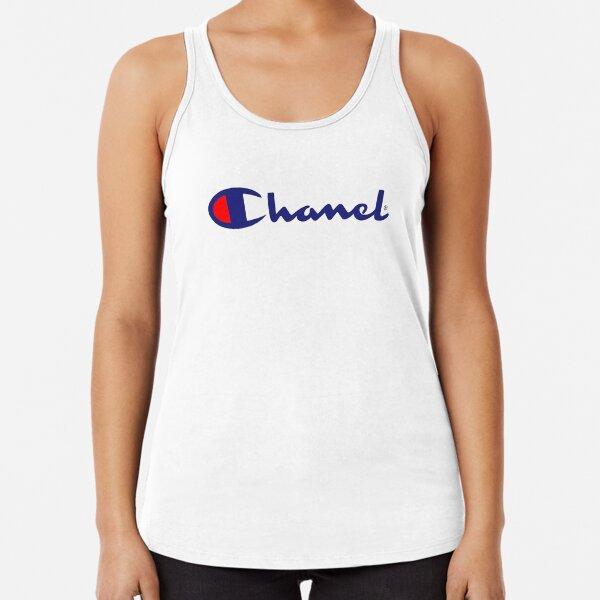 Chanel parody Racerback Tank Top