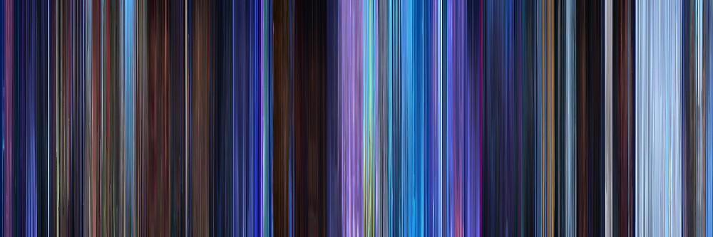 Moviebarcode: Frozen (2013) by moviebarcode