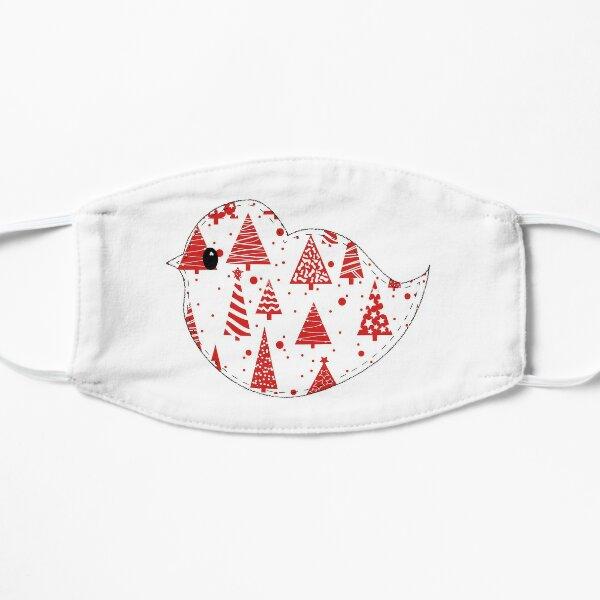 Christmas Robin  Flat Mask