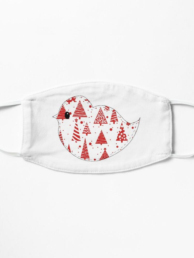 Alternate view of Christmas Robin  Mask