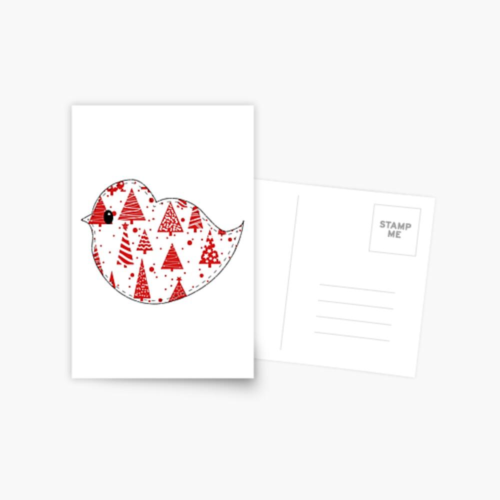 Christmas Robin  Postcard