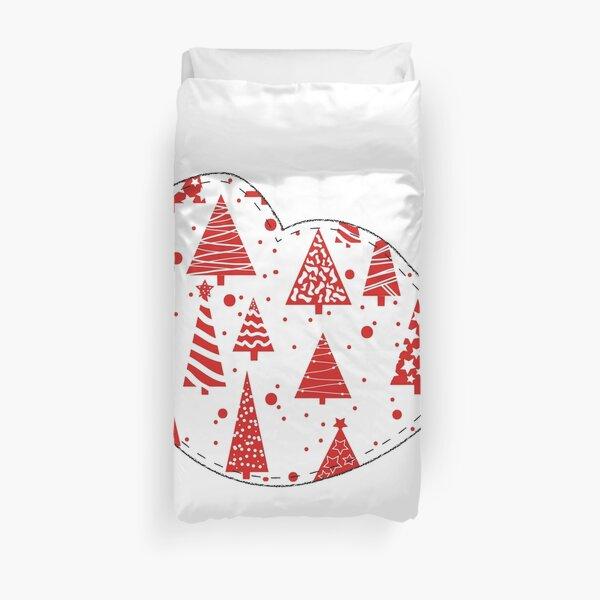 Christmas Robin  Duvet Cover