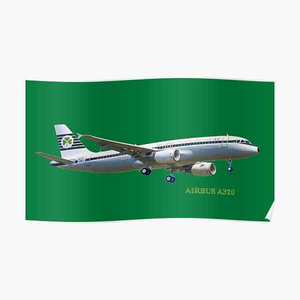 Aer Lingus Airbus A320  Poster