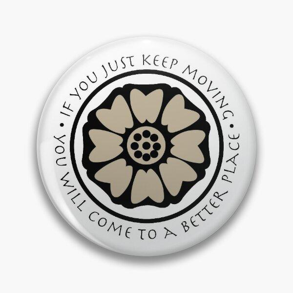White Lotus Tile - Avatar  Pin