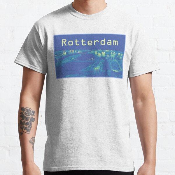 Rotterdam Skyline in Point Cloud Classic T-Shirt